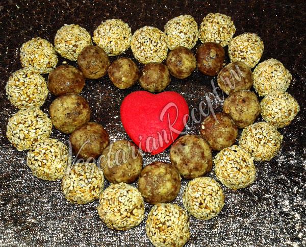 Конфеты из сухофруктов, орехов своими руками