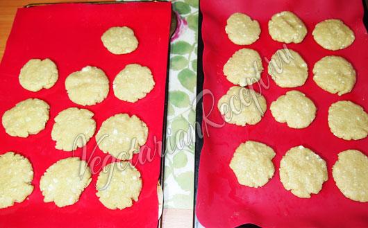 Приготовление постного печенья
