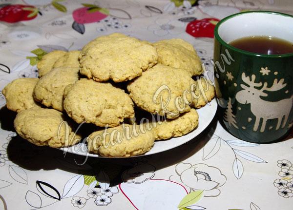Веганское печенье из тофу (постное)