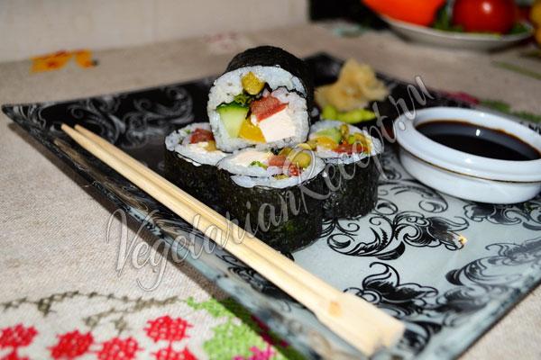 Суши без рыбы в домашних условиях