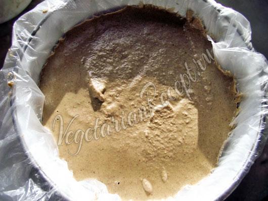 Рецепт сыроедческого веганского чизкейка