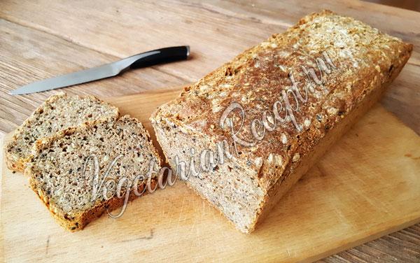 Хлеб из цельнозерновой муки на закваске
