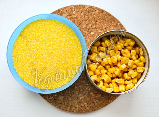 Крупа и кукуруза