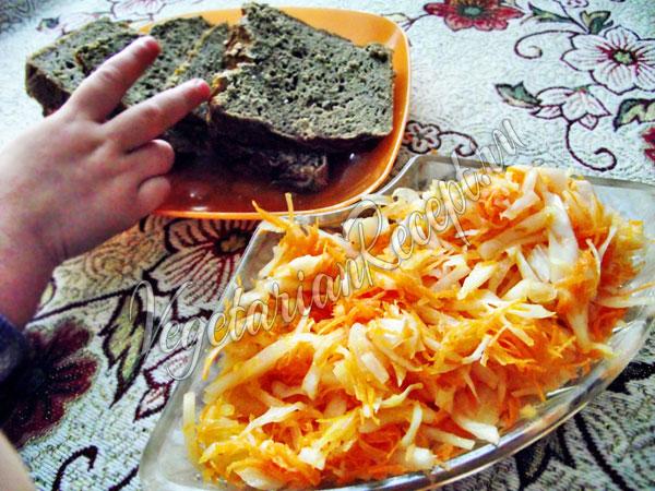 Квашеная капуста - рецепт без соли