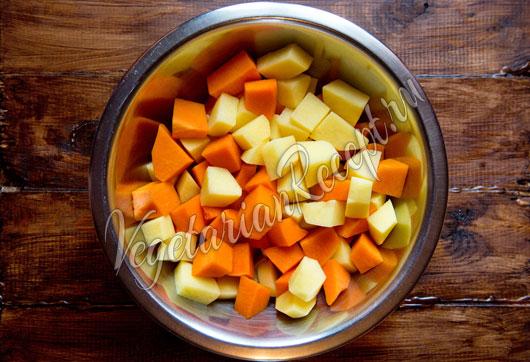 Картофель и тыква
