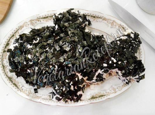 Посыпать водорослями