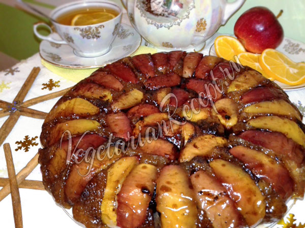 Тарт Татен с яблоками
