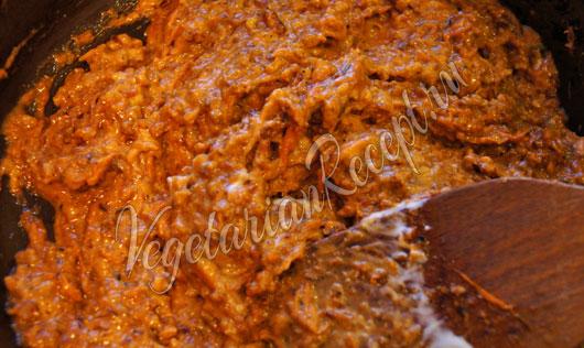 Вегетарианская начинка для фаршированного перца
