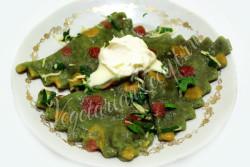 Вегетарианские равиоли
