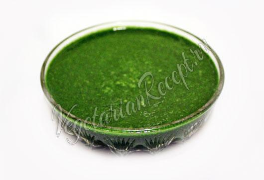 Для зеленых равиоли