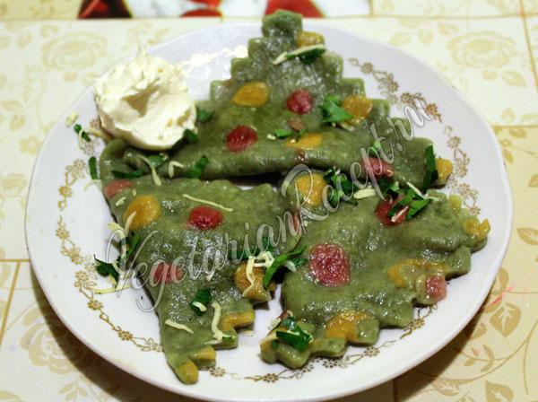 Вегетарианские равиоли - рецепт