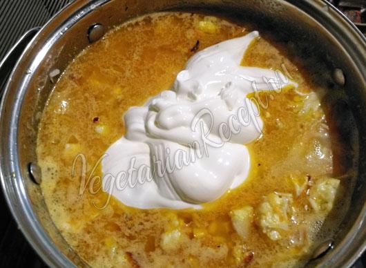 Овощное рагу с рисом - рецепт