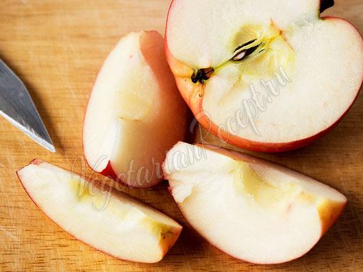 Режем фрукт