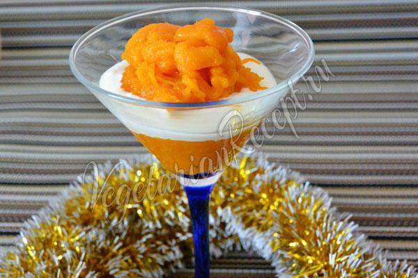 Десерт из тыквы - рецепт