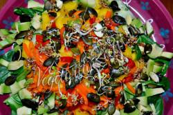 Экзотический салат - рецепт