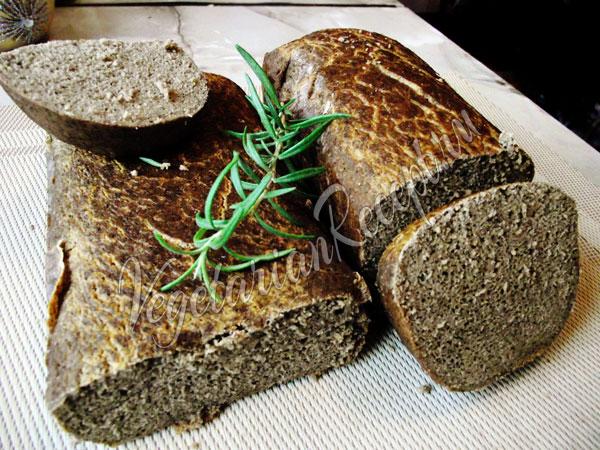 Гречневый хлеб без дрожжей - рецепт