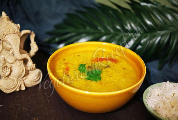 Индийское блюдо Дал Фрай