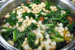 Суп с капустой по-тайски