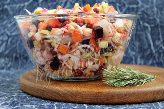 Приготовление салата
