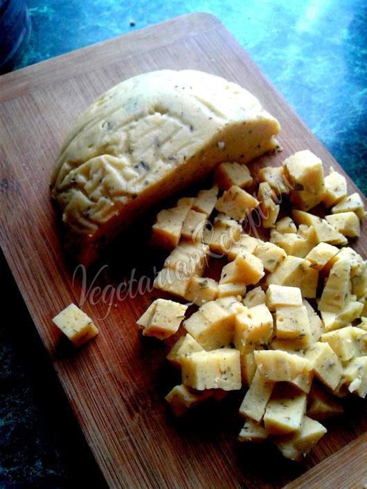 Нутовый сыр - рецепт