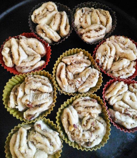Приготовление творожных булочек
