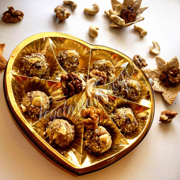 Конфеты из фиников и орехов своими руками