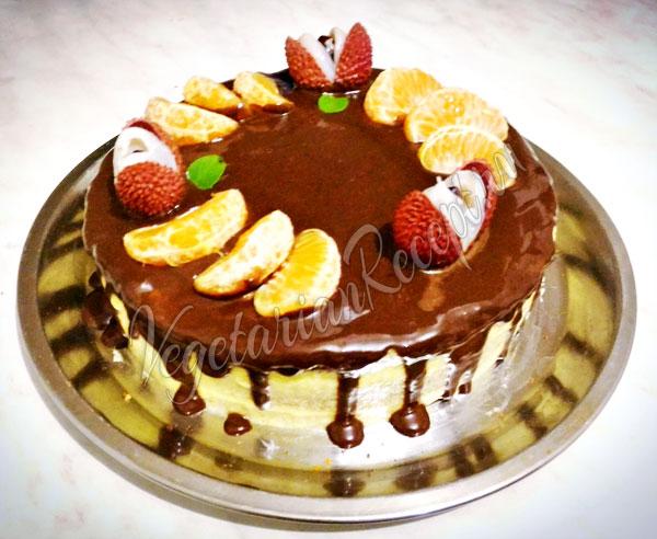 Медовый бисквитный торт