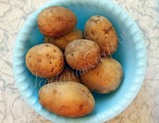 Отваренный картофель