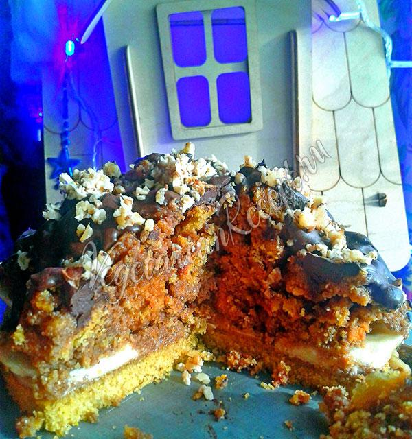 Торт без глютена - рецепт