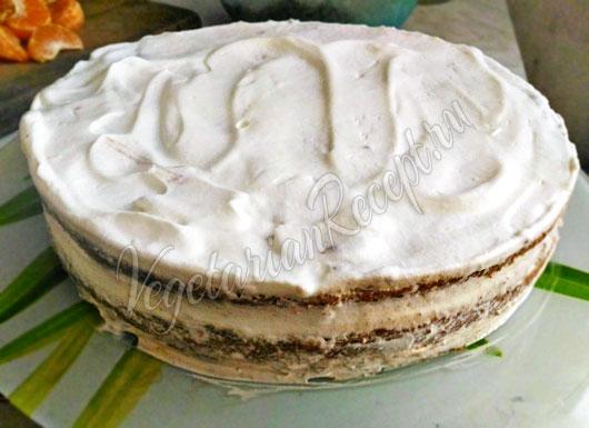 Собранный торт Нежность