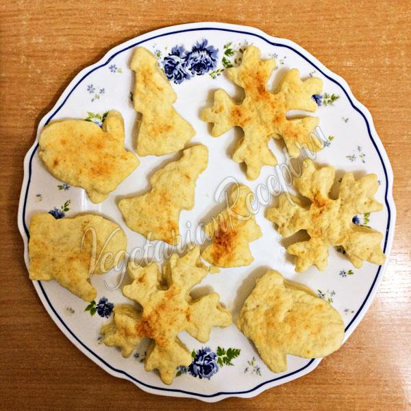 Печенье из творога без яиц