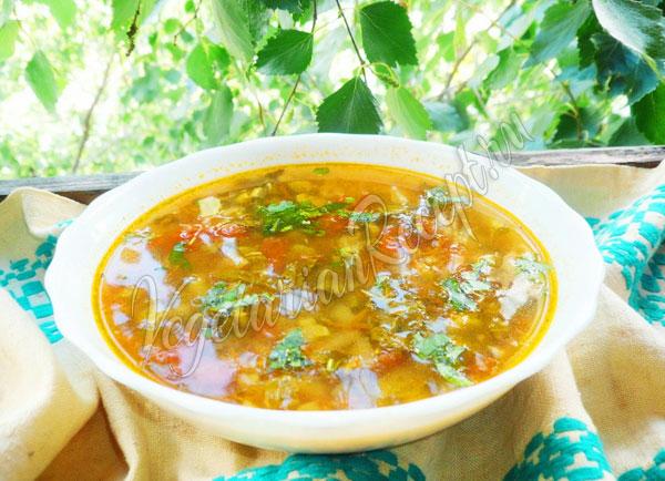 Рецепт супа из ревеня