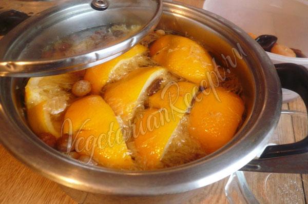 Достаем и отжимаем апельсины