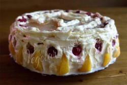Торт с йогуртовым кремом