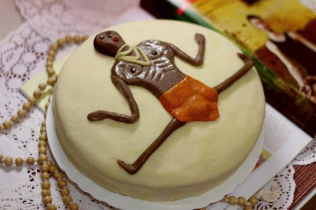 торт из мастики своими руками