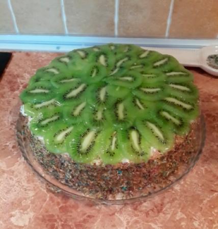 торт киви