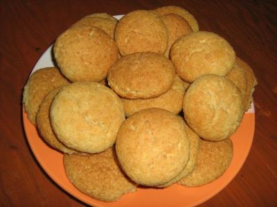 мягкое печенье рецепт на манке